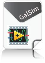 GalSim Toolkit voor LabVIEW